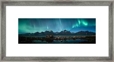 Trespassing Framed Print by Tor-Ivar Naess