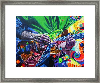Trey Anastasio 4 Framed Print by Kevin J Cooper Artwork