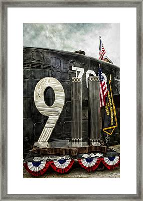 Tribute 911 Framed Print by Peter Chilelli