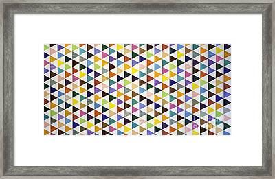 Trichromatic Framed Print by Sean Ward