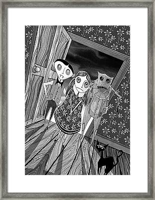 Trick Or Treat  Framed Print by Andrew Hitchen