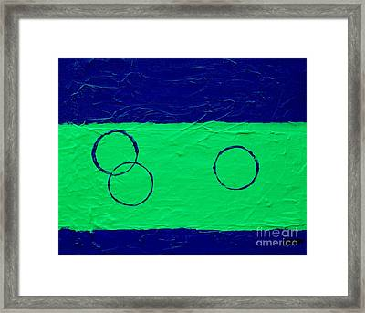 Tricycle Framed Print by Marsha Heiken