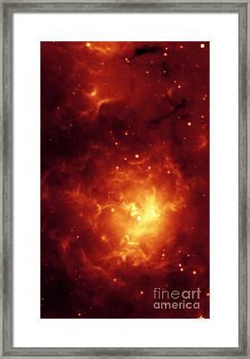 Trifid Nebula Framed Print by NASA Science Source