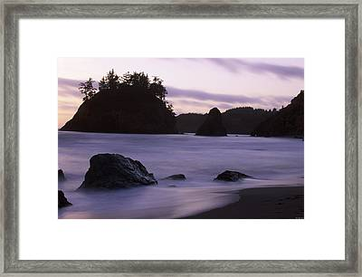 Trinidad State Beach Framed Print by Soli Deo Gloria Wilderness And Wildlife Photography