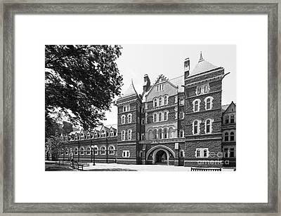 Trinity College Northam Towers Framed Print by University Icons