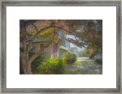 Trinity Episcopal Church, Bridgewater, Massachusetts Framed Print by Bill McEntee
