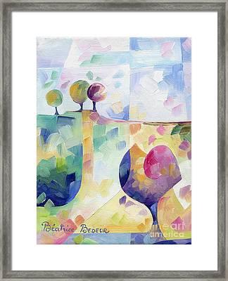 Trio Framed Print by Beatrice BEDEUR