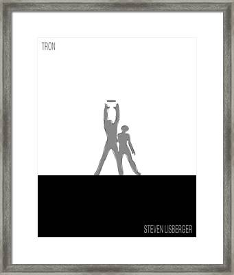 Tron Framed Print by Finlay McNevin