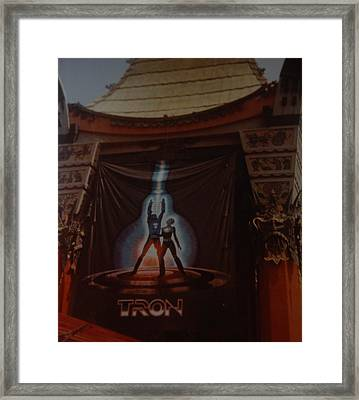 Tron  Framed Print by Rob Hans