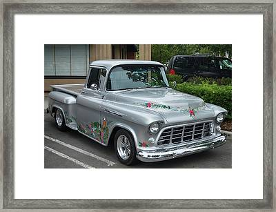 Tropical 3100 Chevy Framed Print by Bill Dutting