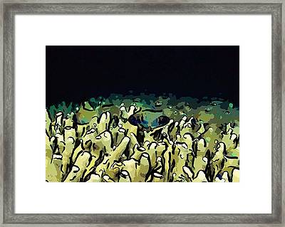 Tropical Coral Reef 1 Framed Print by Lanjee Chee