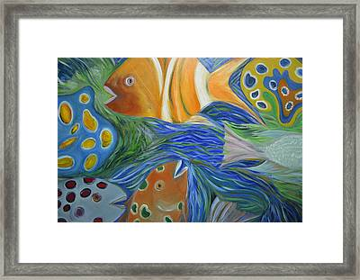 Tropical Discovery Framed Print by Christopher Chua