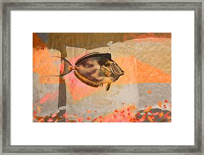 Underwater Diva Framed Print featuring the digital art Tropical Dream Number 1 by Carol Leigh