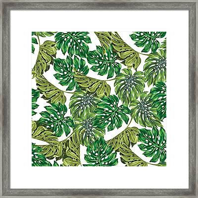 Tropical Haven  Framed Print by Mark Ashkenazi