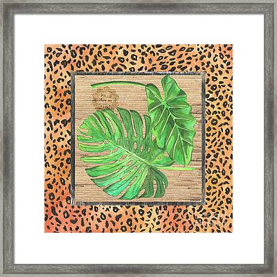 Tropical Palms 2 Framed Print by Debbie DeWitt