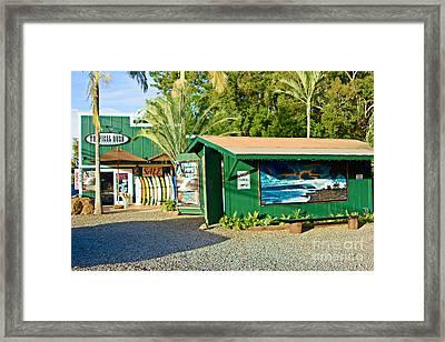Tropical Rush Framed Print by Paul Topp