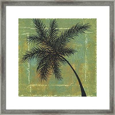 Tropical Splash 4 By Madart Framed Print by Megan Duncanson