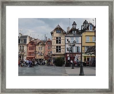Troyes France Framed Print by Marilyn Dunlap