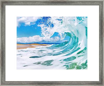 True Blue Framed Print by Paul Topp