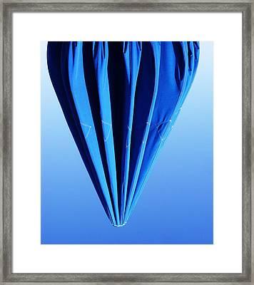 True Blue Too Framed Print by Anna Villarreal Garbis