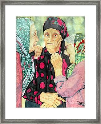 True Friends Framed Print by Christine Belt