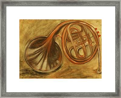 Trumpet Framed Print by Rashmi Rao