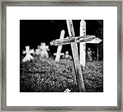 Trying To Find My Way  Framed Print by  Kelly Hayner