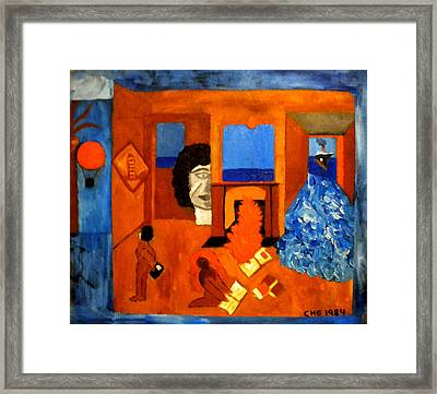 Trying To Find The Way Out Or Is It Better To Stay   Framed Print by Colette V Hera  Guggenheim