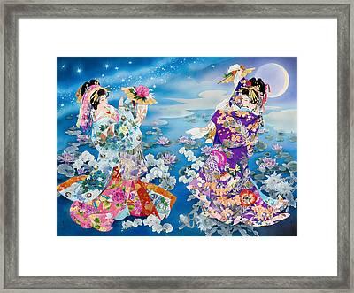 Tsuki Hoshi Framed Print by Haruyo Morita