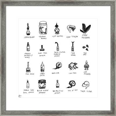 Taken From Animals Framed Print by Shawn Powers