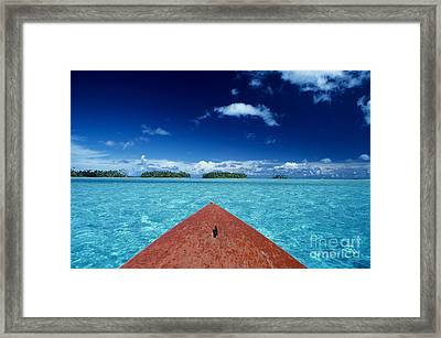 Tuamotu Islands, Raiatea Framed Print by William Waterfall - Printscapes