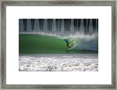 Tube Ride Framed Print by Larry Marshall