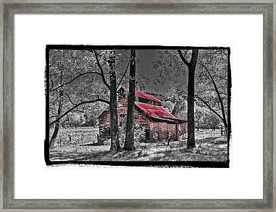Tucked In Framed Print by Debra and Dave Vanderlaan