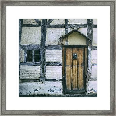Tudor House Framed Print by Joana Kruse
