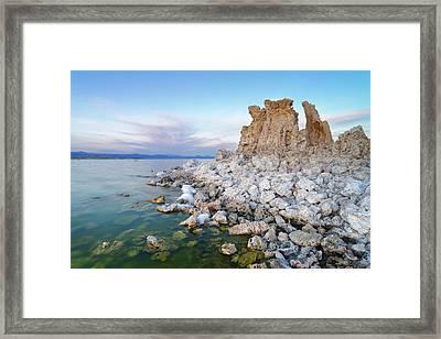 Mono Lake - Tufa Framed Print by Francesco Emanuele Carucci