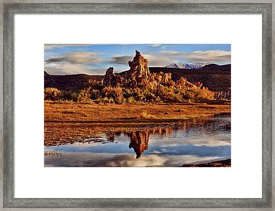 Tufa Mono Lake California Framed Print by Garry Gay