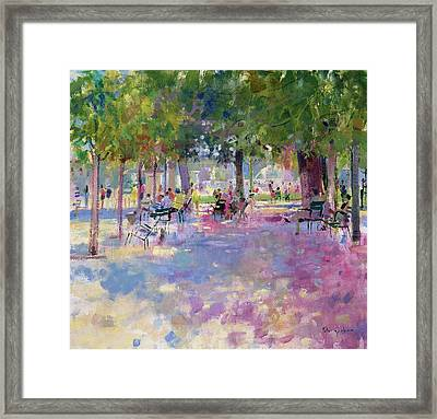 Tuileries  Paris Framed Print by Peter Graham