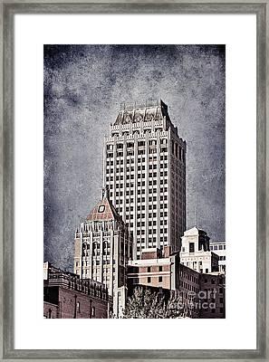 Tulsa Art Deco I Framed Print by Tamyra Ayles