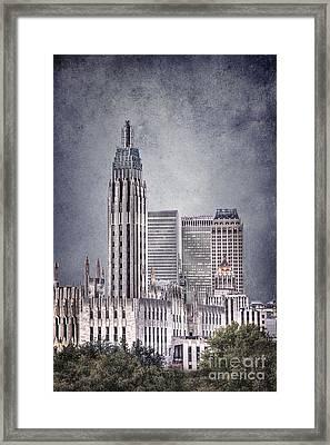Tulsa Art Deco II Framed Print by Tamyra Ayles