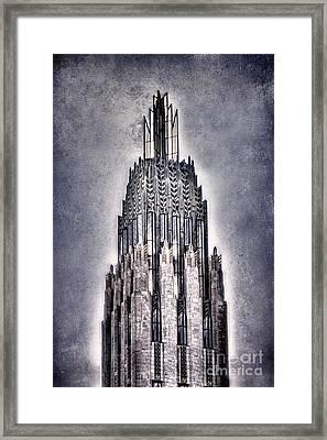 Tulsa Art Deco IIi Framed Print by Tamyra Ayles