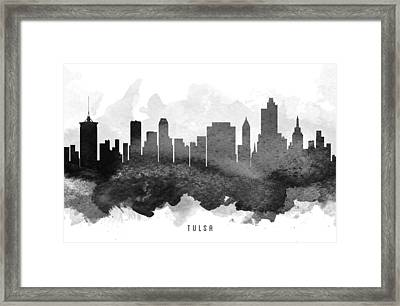Tulsa Cityscape 11 Framed Print by Aged Pixel