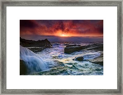 Tumult Framed Print by Rick Berk