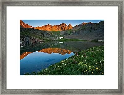Tundra Glow Framed Print by Guy Schmickle