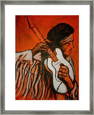Tune Up Framed Print by Pete Maier