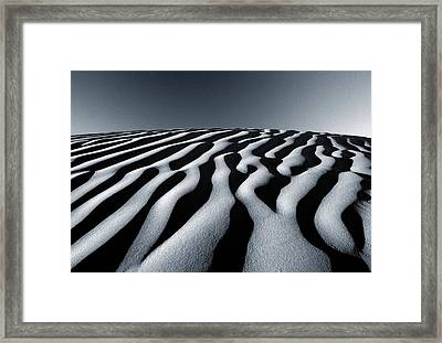 Tunisian Dunes Framed Print by Tim Booth