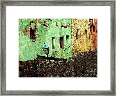 Tunnel Lamp 2 Framed Print by Mexicolors Art Photography