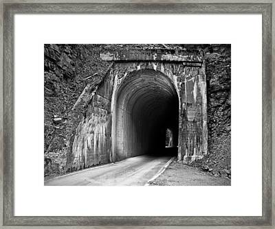 Tunnel Framed Print by Leland D Howard