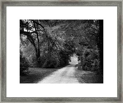Tunnel Of Lydia Framed Print by Michael Thomas