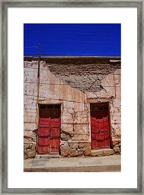 Tupiza 9 Framed Print by Skip Hunt