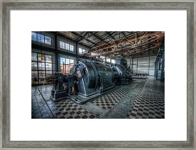 Turbo Framed Print by Nathan Wright